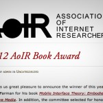 AoIR Book Award